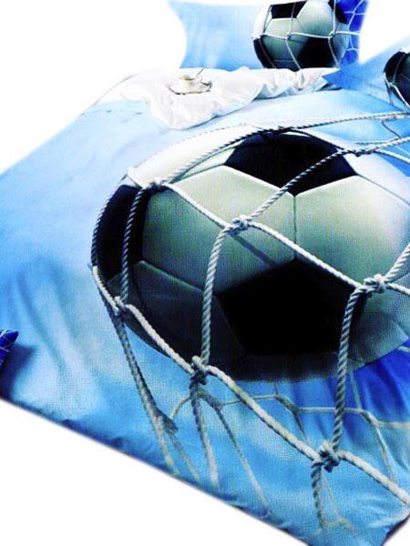 Súprava obliečok futbal 3D obsahuje: 1 x posteľná prikrývka : 160 x 200 cm 2 x obliečka na vankúš : 70 x 80 cm Označenie produktu: JAFU 5013 - Posteľné obliečky sú vyrobené zo 100% bavlny. - Vhodné pre alergikov - Veľmi vysoká kvalita biobavlny. - 100% prírodné použité materiály za tak výhodnú cenu. - Obliečky a prestieradlo majú rovnaký vzor