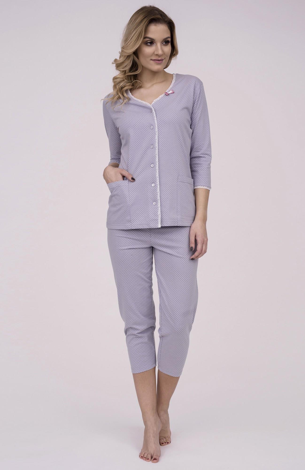 1fadb9807dd5 Dámske bavlnené pyžamo Cana 174. Prinášame Vám novú kolekciu dámske pyžamá  jar-leto 2018