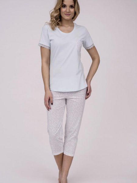 b4d597d75d27 Dámske bavlnené pyžamo Cana 179. Prinášame Vám novú kolekciu dámske pyžamá  jar-leto 2018