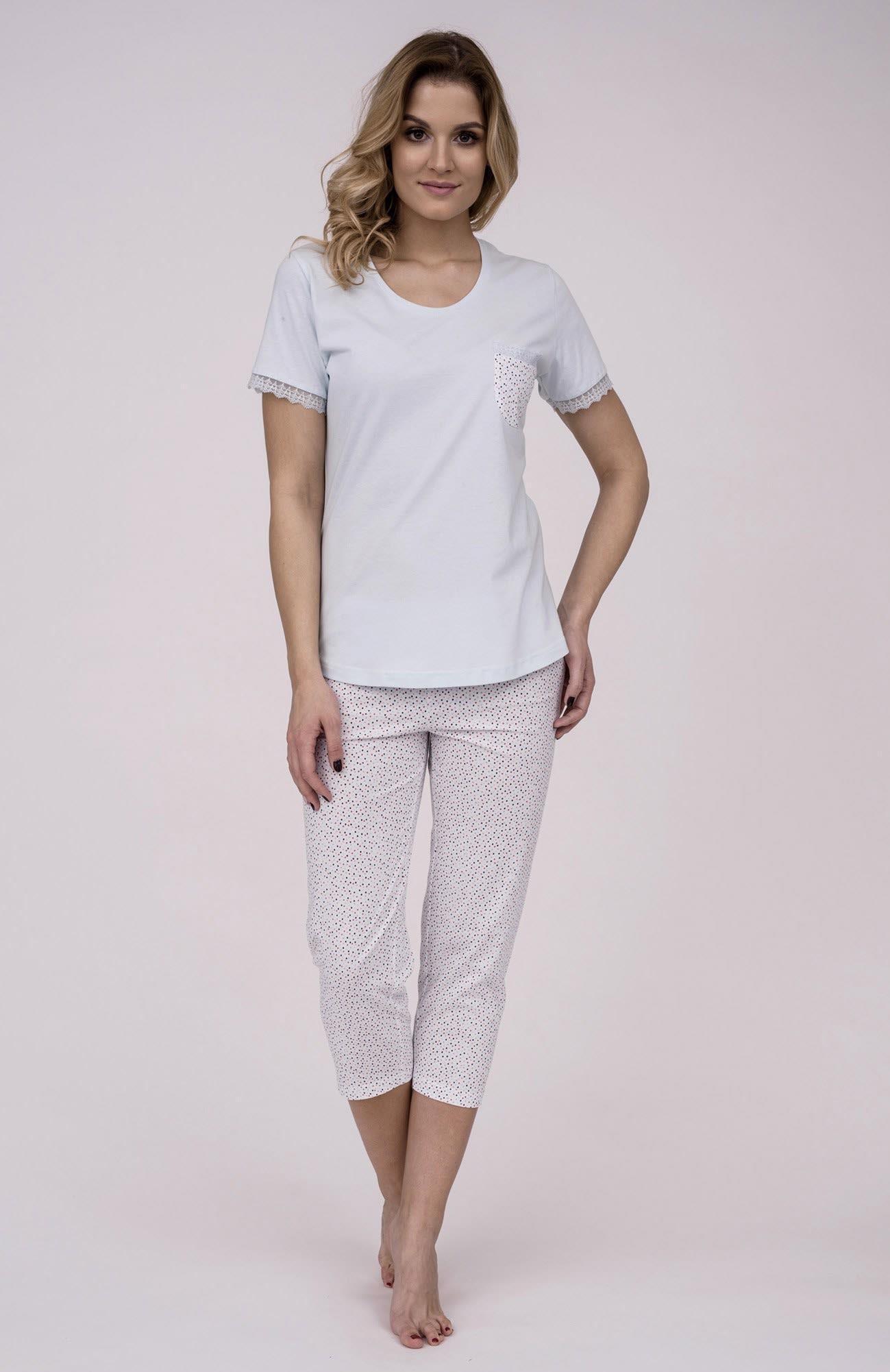 9d2862c97deb Dámske bavlnené pyžamo Cana 179. Prinášame Vám novú kolekciu dámske pyžamá  jar-leto 2018