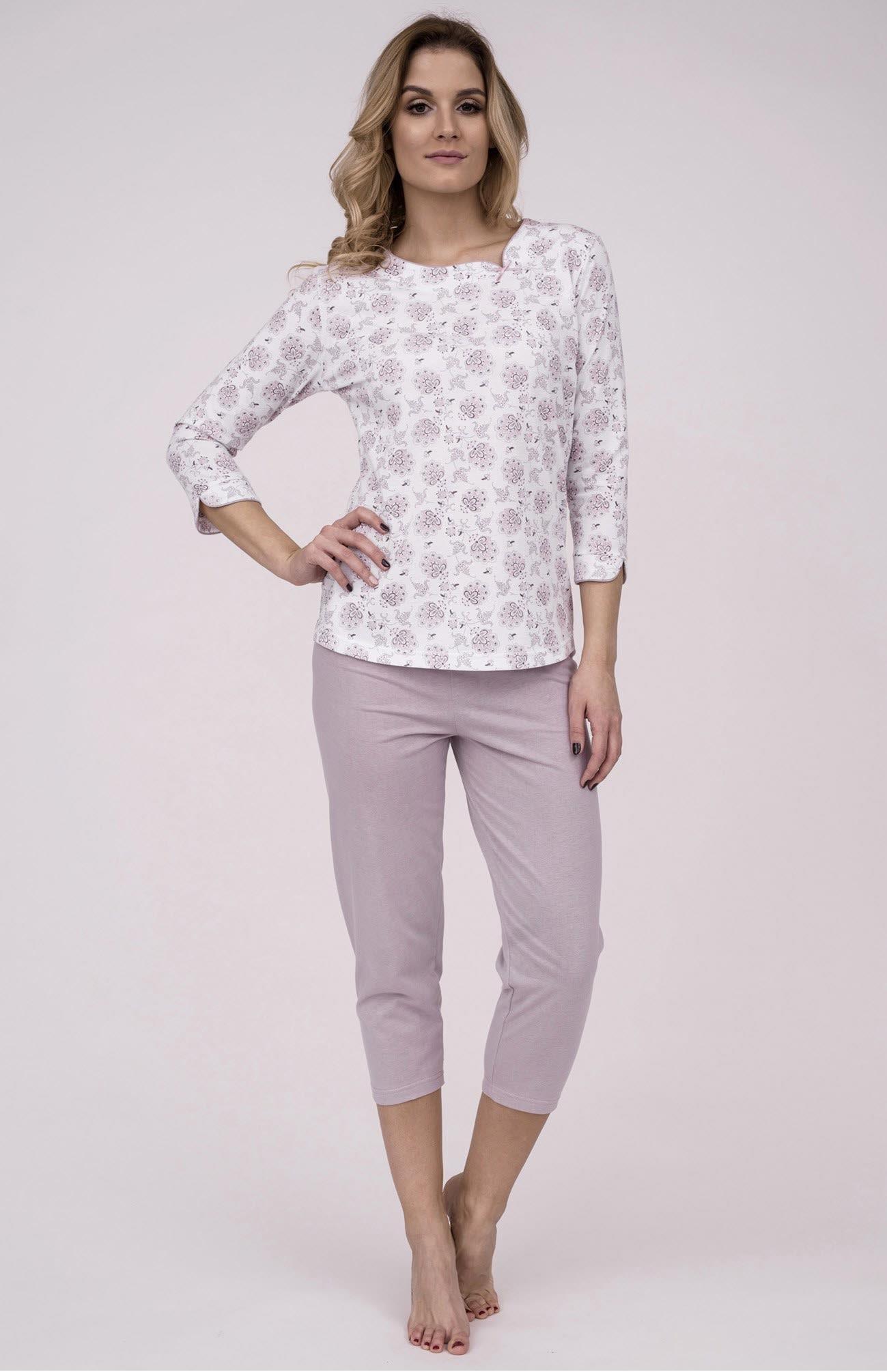 f7399a9d52f3 Dámske bavlnené pyžamo Cana 180. Prinášame Vám novú kolekciu dámske pyžamá  jar-leto 2018
