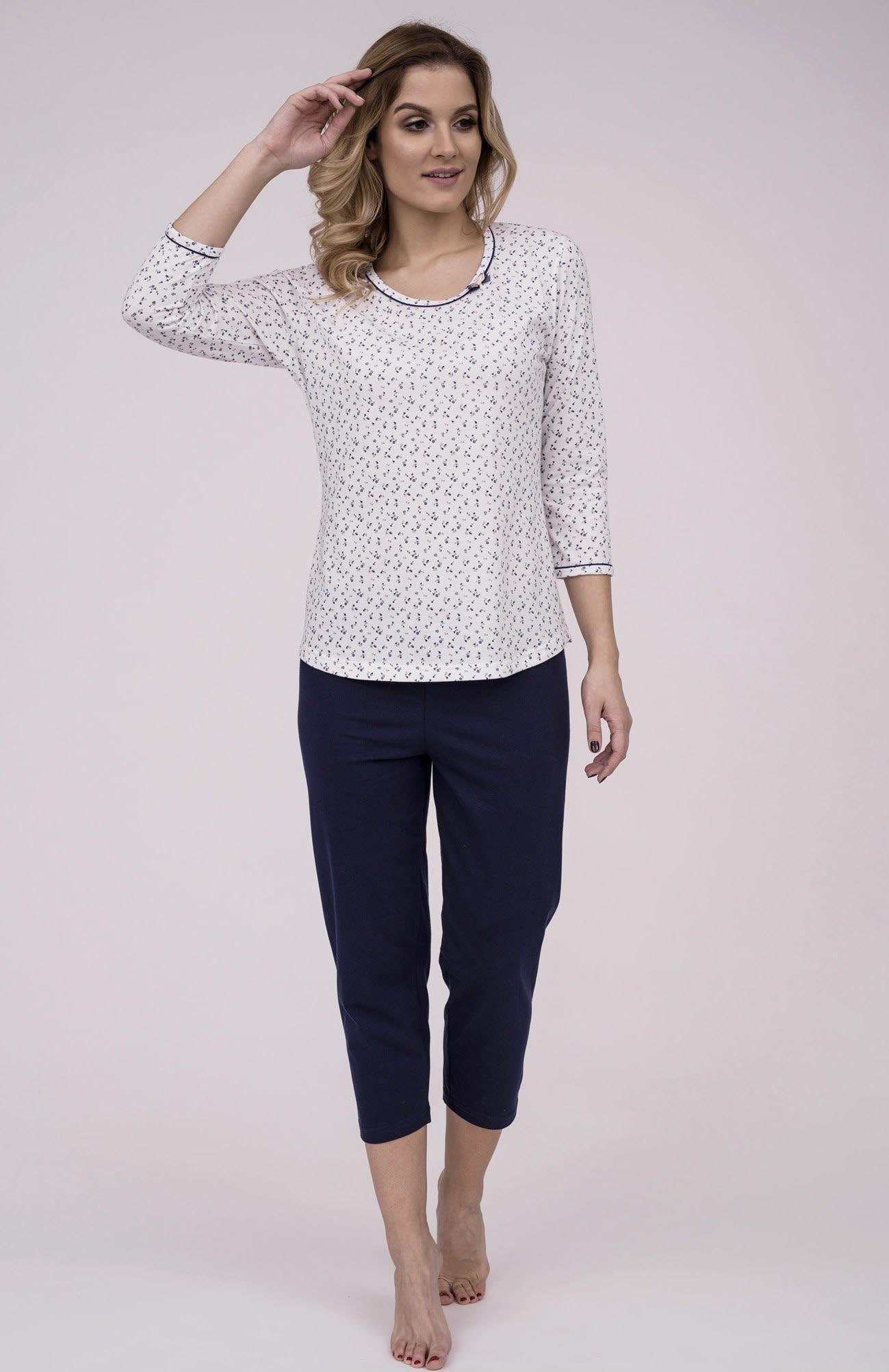 86820b4ca9bb Dámske bavlnené pyžamo Cana 184. Prinášame Vám novú kolekciu dámske pyžamá  jar-leto 2018
