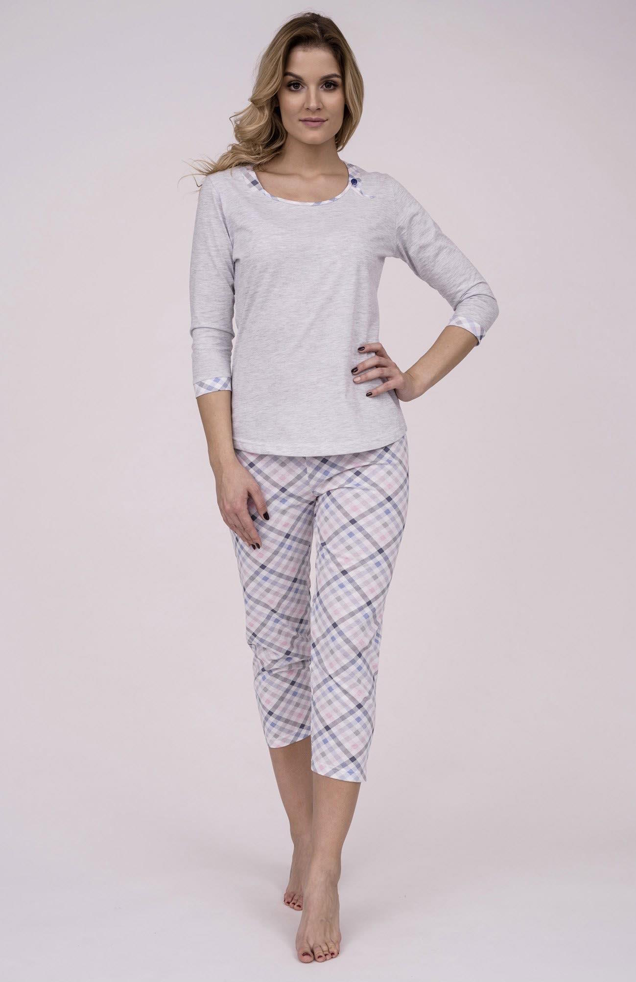 e3e7b64dc1ed Dámske bavlnené pyžamo Cana 190. Prinášame Vám novú kolekciu dámske pyžamá  jar-leto 2018