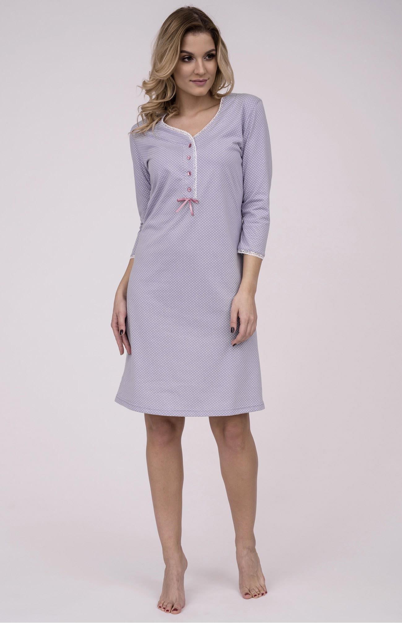 a968cebb39c6 Dámska nočná bavlnená košeľa Cana 778 je určená pre obdobie jar-leto  kolekcia 2018.