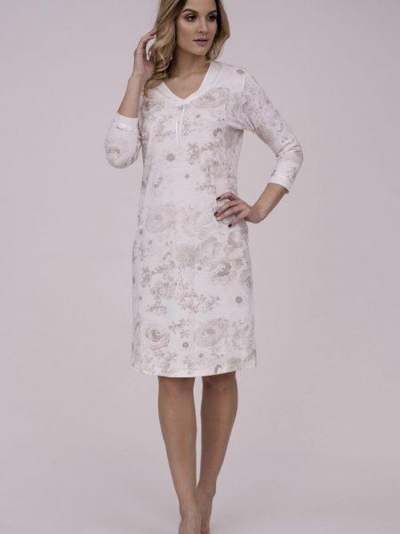 75f42210bf57 Dámska nočná košeľa Cana 784. Dámska nočná bavlnená košeľa Cana 784 je  určená pre obdobie