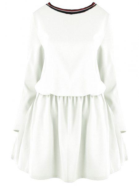 Dámske šaty JARKA 12115 sú dostupné v troch farebných prevedeniach. Veľkosť šiat : univerzál Farebné prevedenia : biela kód : 1211593 ružová kód : 1211597 modrá kód : 1211594