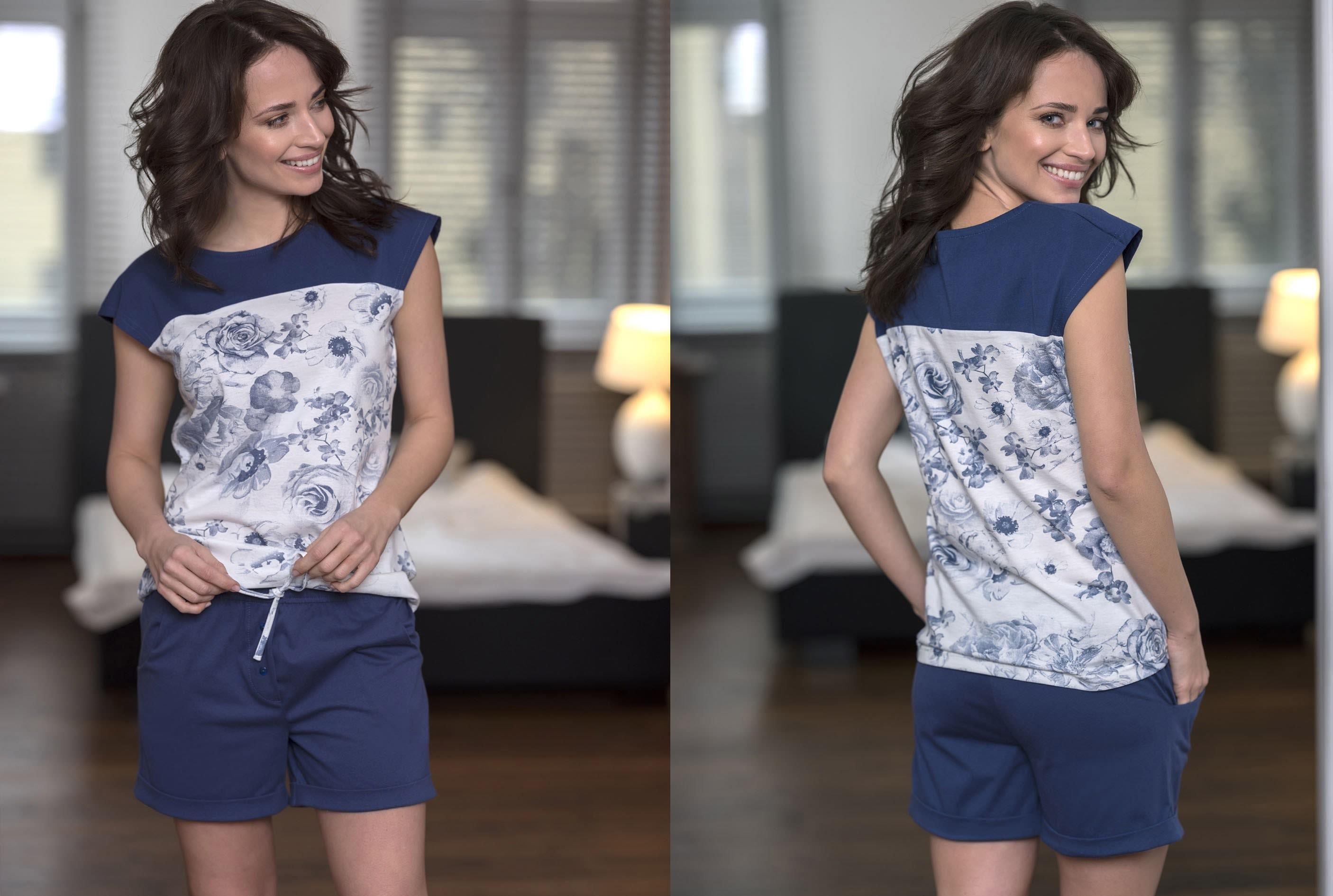 73884172b0b8 Dámske bavlnené pyžamo Cana 188. je z novej kolekcie jar-leto 2018. Skladá