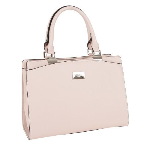 7b2ede309 Dámska kabelka Flora & Co 6346, v jemne ružovej farbe vyrobená z eko kože so