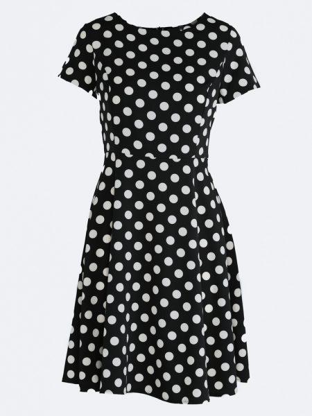 Čierne bodkované šaty Avery, dostupné v 4 veľkostiach Veľkosť šiat : S/M, L/XL, XL/XXL, XXL/XXXL Výška modelky: 175 cm Obvod ramien modelky: 94 cm Veľkosť pásu modelky: 63 cm Hrudník modelky: 85 cm Veľkosť, ktorú má modelka: S / M Farebné prevedenia : čierna bodkované kód : Avery 1246434