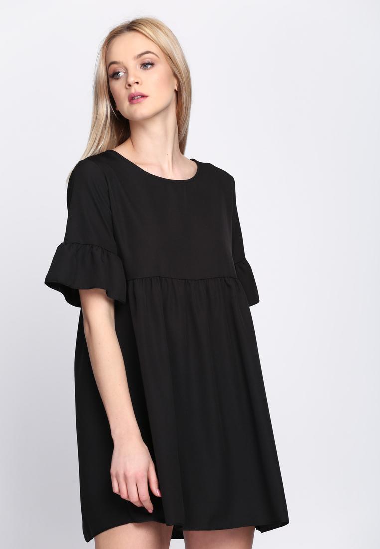 afd5cd06dbd3 Dámske šaty čierne Zoe