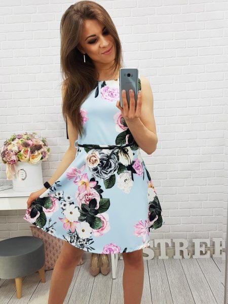 6dee44e0f8956 Dámske šaty Anne modrá | Jarka.sk | móda • štýl • potešenie