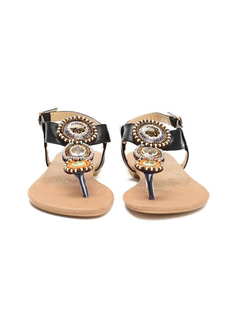 7a2d194cf9af Dámske sandále čierne Natália Veľkosť   36