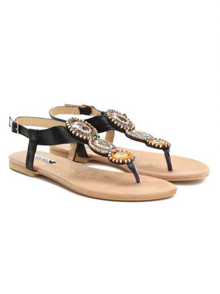 6c77fe5ea963 Dámske sandále čierne Natália Veľkosť   36