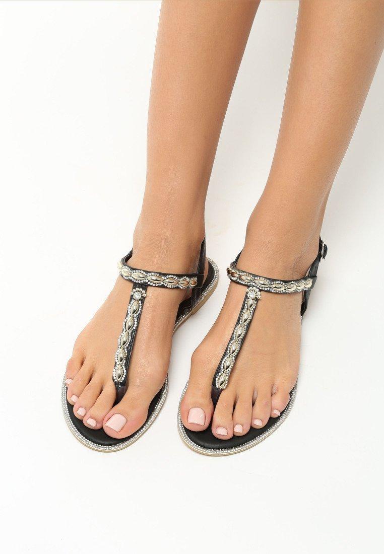 dcded58cb744 Dámske sandále čierne Layla Veľkosť   36