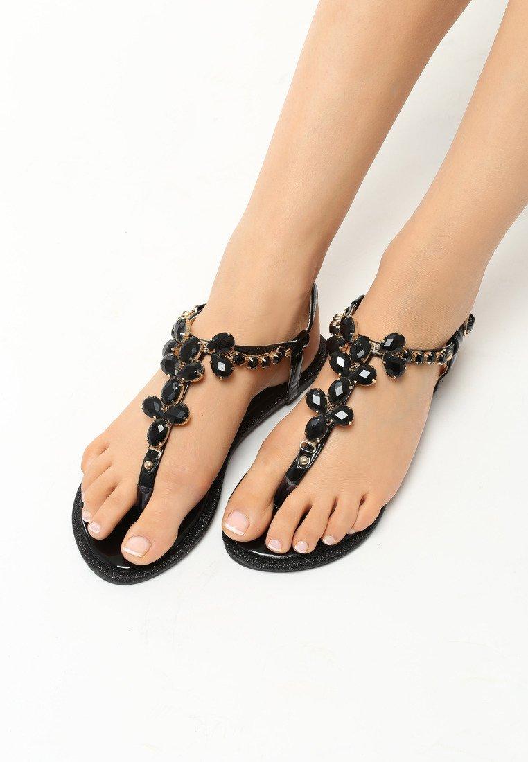 5c5059ca58f1 Dámske sandále čierne Penelope Veľkosť   35