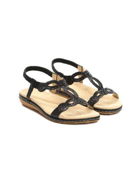 0fd9df3c088f Dámske sandále čierne Stella Veľkosť   36