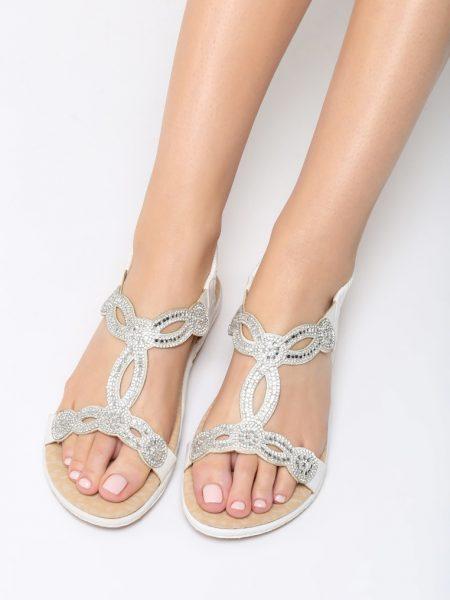 Dámske sandále biele Stella Veľkosť   36 350b12aac84