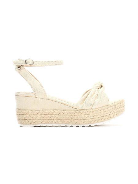 5754eef4d922 Dámske sandále na platforme béžové Nora Veľkosť   36