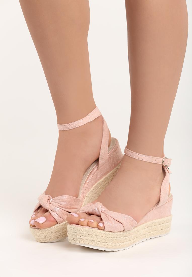 9342581f9165 Dámske sandále na platforme ružové Nora Veľkosť   36