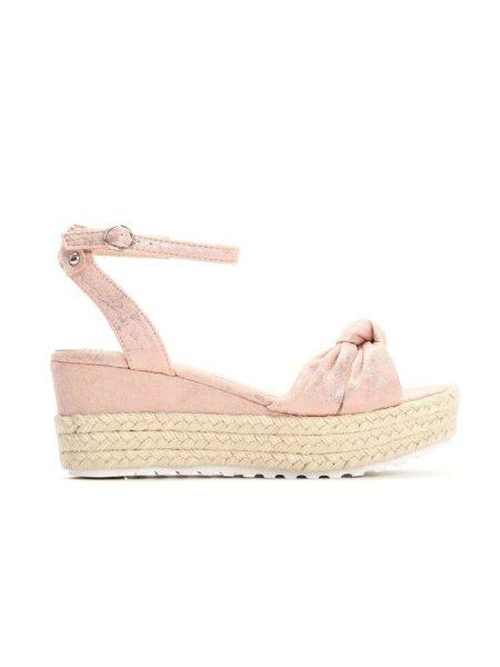 329a245c97 Dámske sandále na platforme ružové Nora Veľkosť   36
