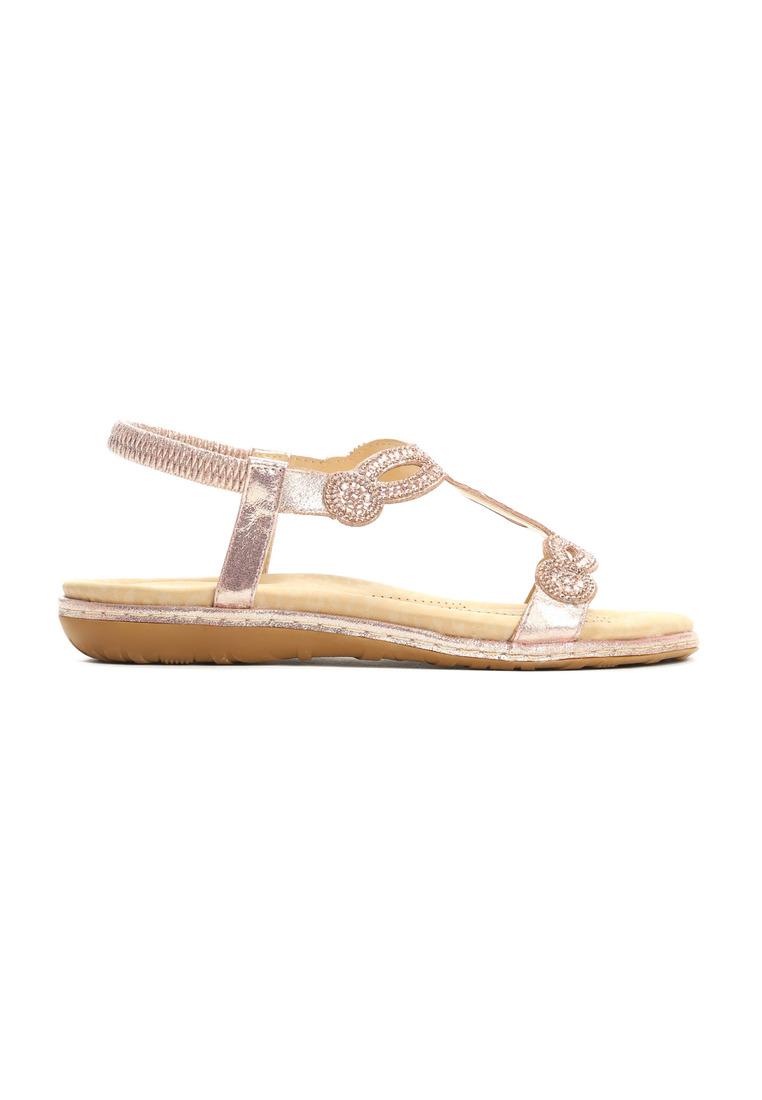 Damske sandale na ružové kod 1267087 Stella 2  b50498a4d45