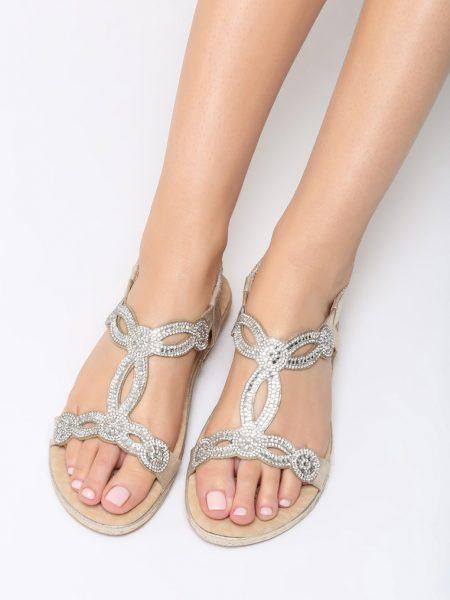 e5938f9a0 Dámske sandále zlaté Stella | Jarka.sk | móda • štýl • potešenie