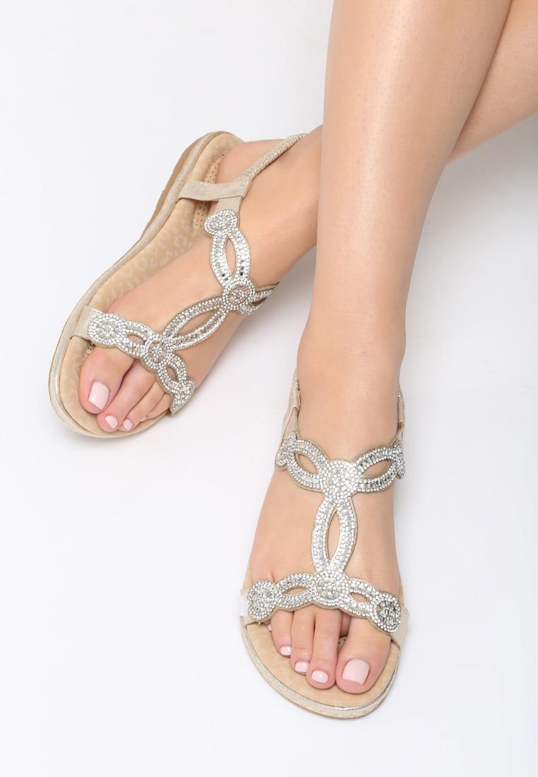 70f723692e42 Dámske sandále zlaté Stella Veľkosť   36