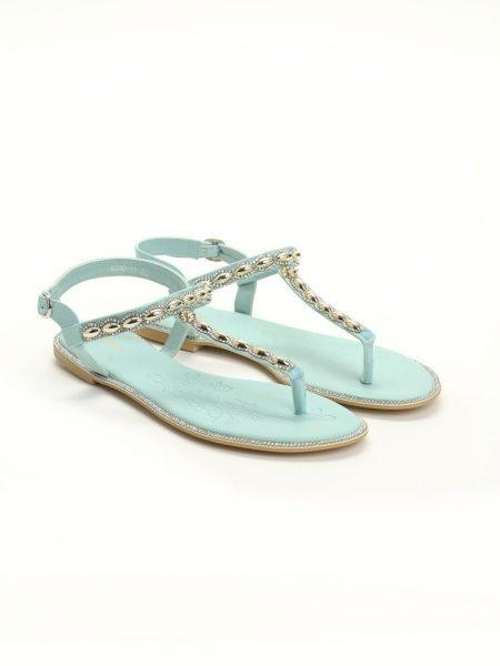 c8072bc74428 Dámske sandále zelené Layla Veľkosť   36