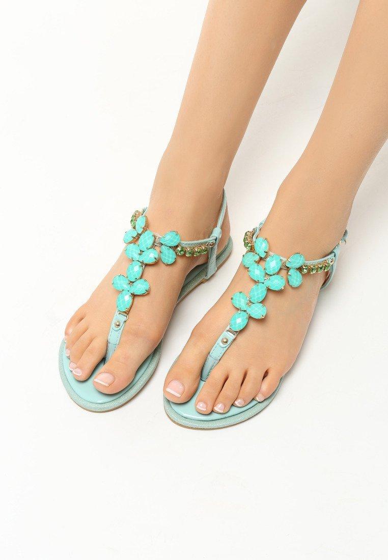 d5672f5dd4 Dámske sandále zelené Penelope Veľkosť   35