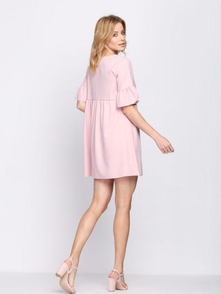 e5858bf498 Dámske šaty ružové Zoe