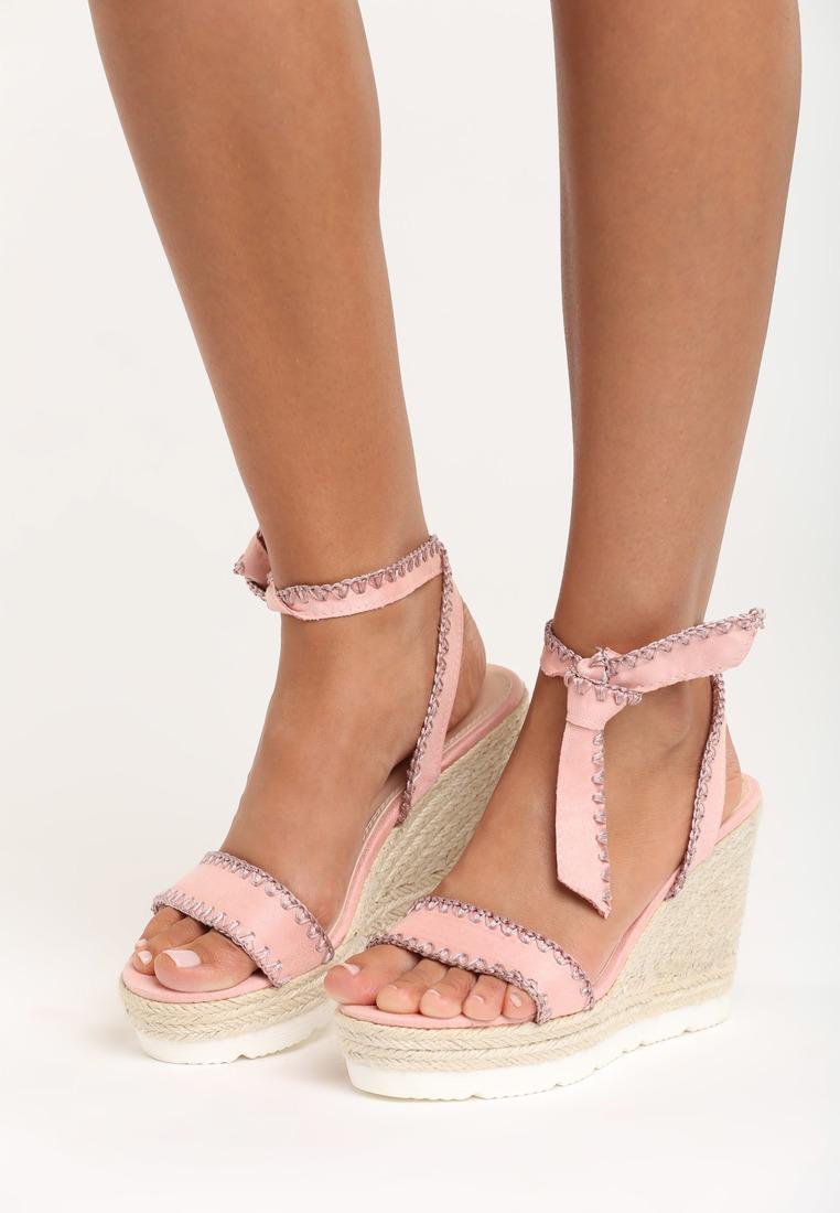 0fc56b87d357d Sandále na platforme ružové Aria | Jarka.sk | móda • štýl • potešenie
