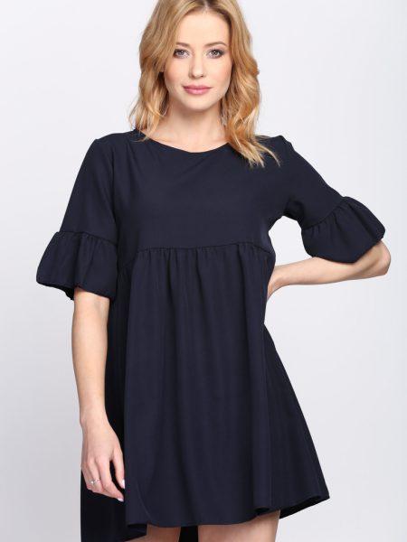 dc2823567ef92 Dámske šaty tmavo modré Zoe, dostupné vo dvoch veľkostiach S/M a L/