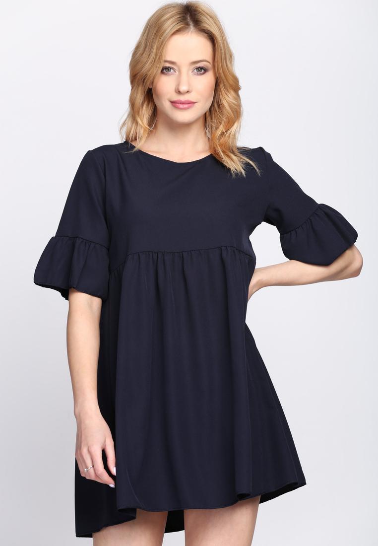 Dámske šaty tmavo modré Zoe  64e1bb91899