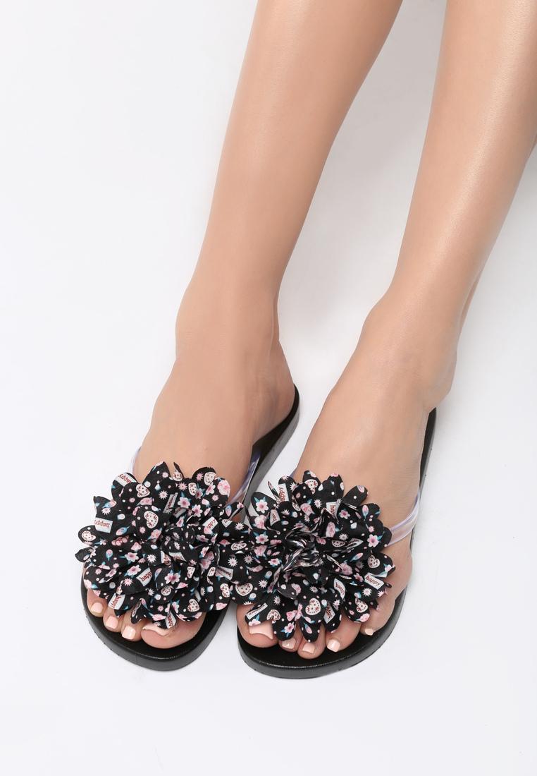 Dámske šľapky čierne Japonky Veľkosť   36 01cfaa5aae
