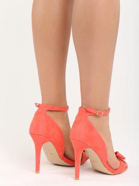 602695ba02 Dámske sandále červené Merlon Veľkosť   36