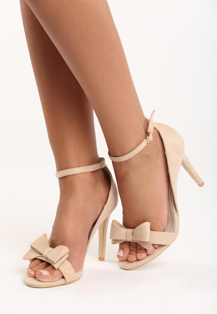 cc0c2c735fcf Dámske sandále bežové Merlon Veľkosť   36