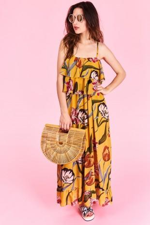 107bed669e15e Dlhé letné šaty Ariella Veľkosť UNI-verzálna Vyrobené z príjemného  materiálu. Letné pohodlné šaty