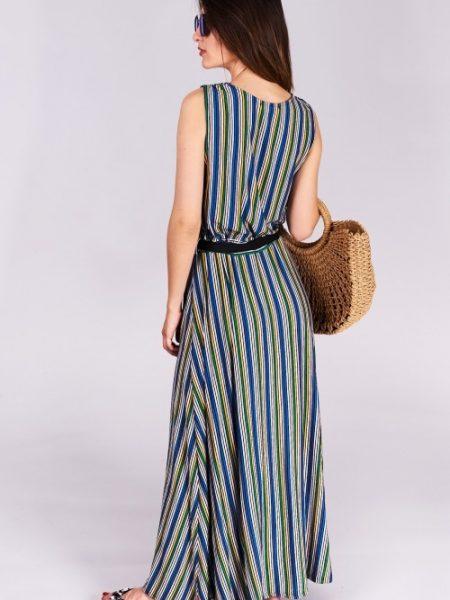 4d4c055a32df2 Dlhé letné šaty Amélia Veľkosť UNI-verzálna Vyrobené z príjemného  materiálu. Letné pohodlné šaty