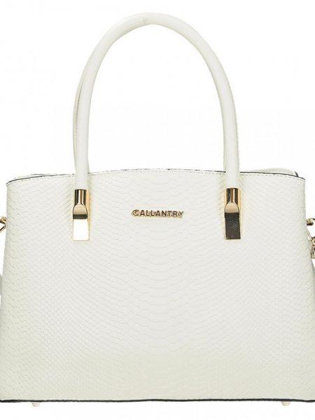 0b6c8caca Dámska kabelka Gallantry V 0884, v bielom prevedení je vyrobená z veľmi  kvalitnej eko kože