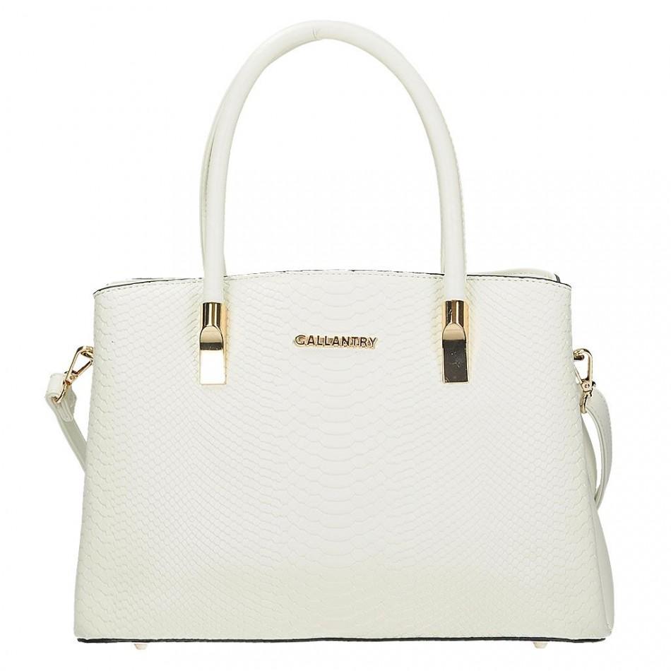 9f40ff47a Dámska kabelka Gallantry V 0884, v bielom prevedení je vyrobená z veľmi  kvalitnej eko kože