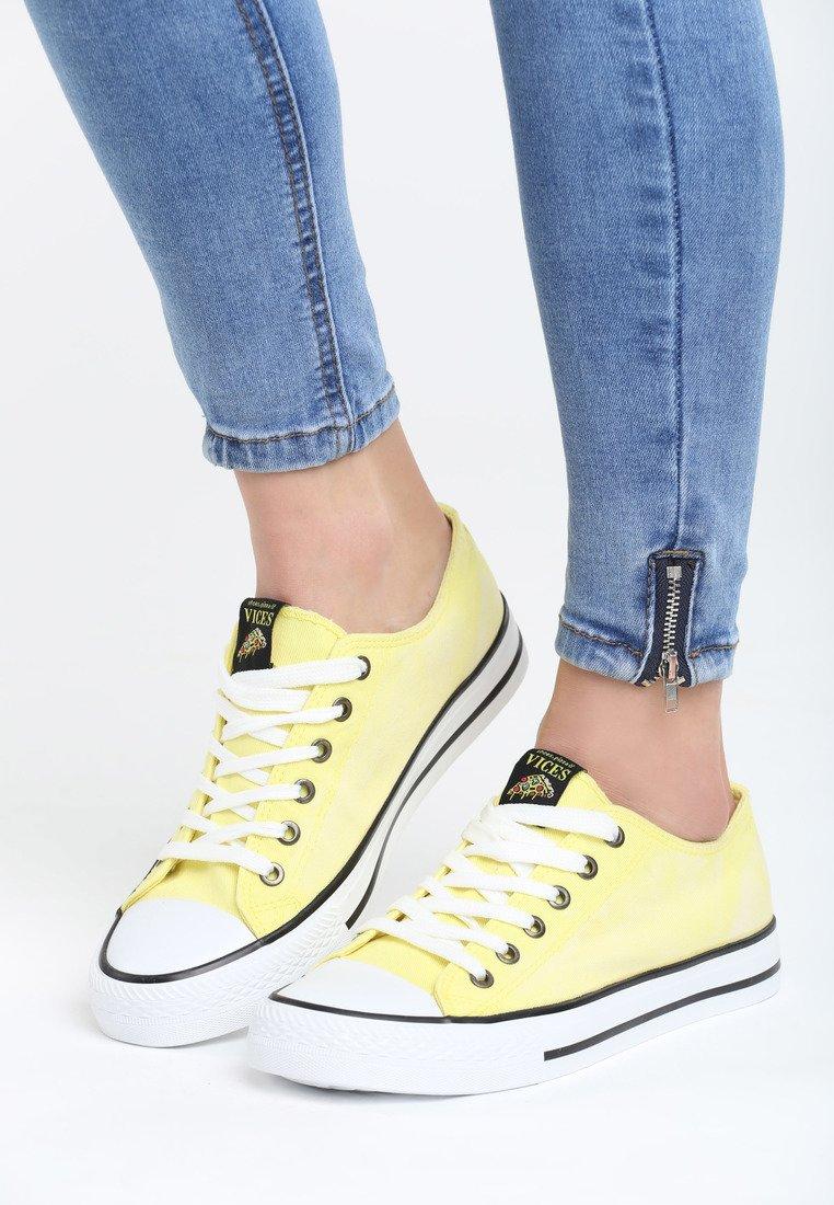 7fbce924e7da Dámske tenisky v žltej farbe Esme Veľkosť   36