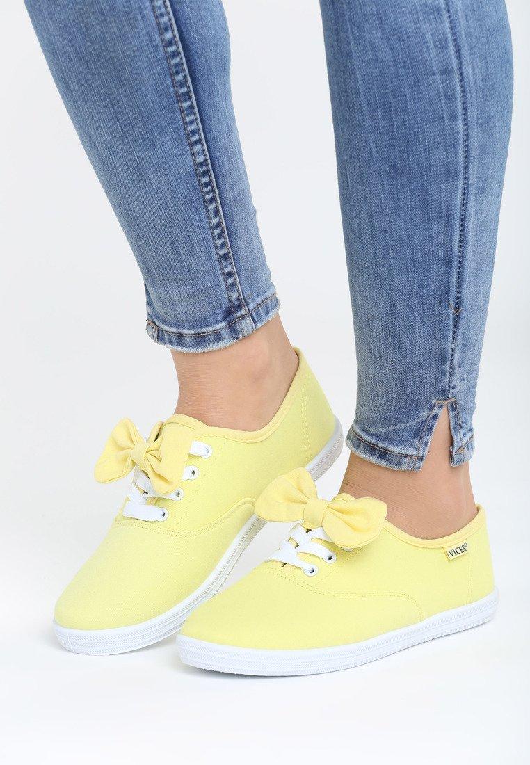 aaeaafccd04e Dámske tenisky v žltej farbe Mae Veľkosť   36