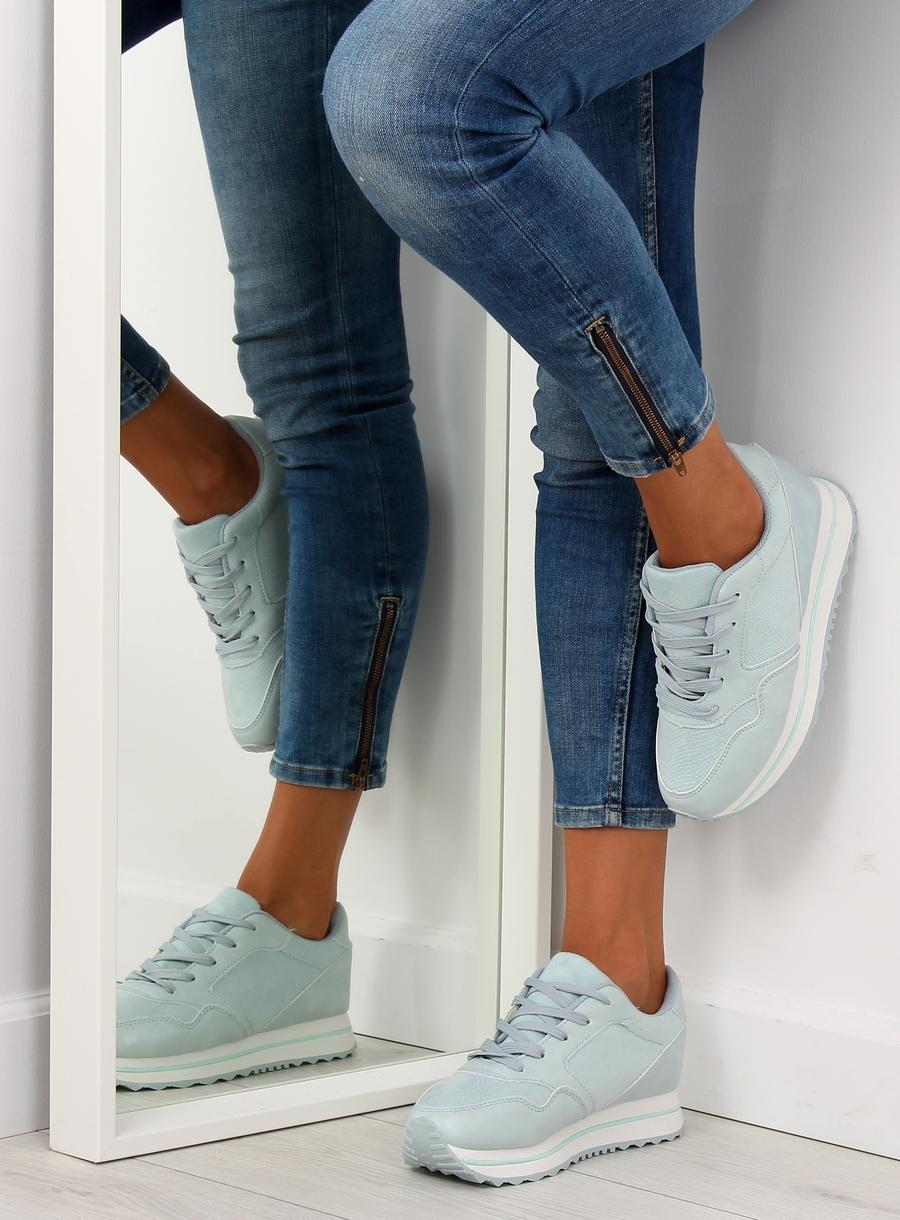6f735f0d6b73 Dámske tenisky v modrej farbe Linda Veľkosť   36