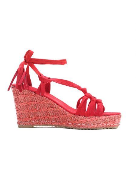 265a0a16ba Dámske sandále na platforme červené Kinsley Veľkosť   35