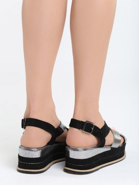 80955796feee1 Dámske sandále na platforme čierne Trinity   Jarka.sk   móda • štýl ...