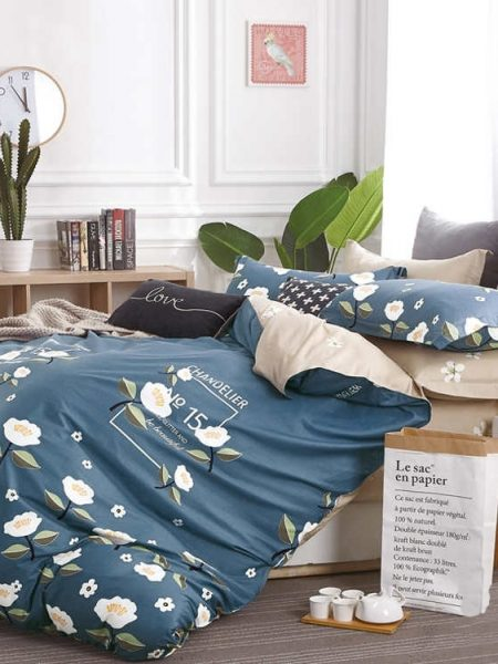 Posteľná obliečka bavlnený satén Melody