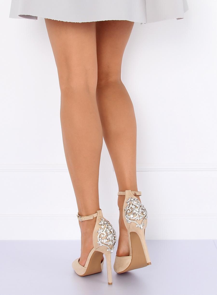 5eb79ae13b28 Dámske sandále v béžovej farbe Carlee 159509-502BE