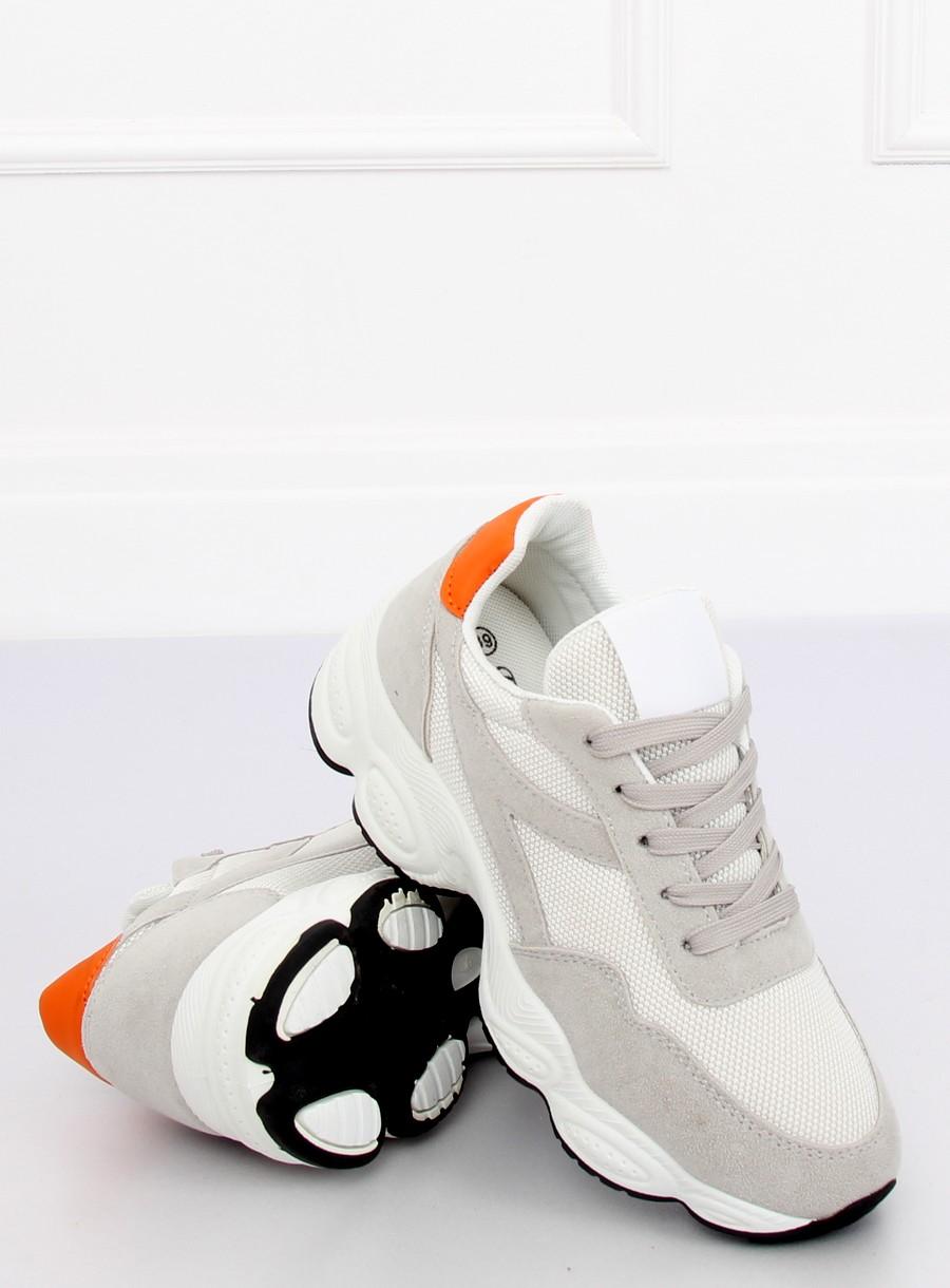 688ff680a6 Dámske tenisky v bielej farbe Elora - 4