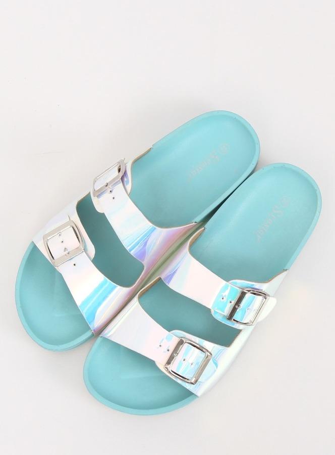 c757e0a6926e Dámske šľapky v modrej farbe Cadence - 3