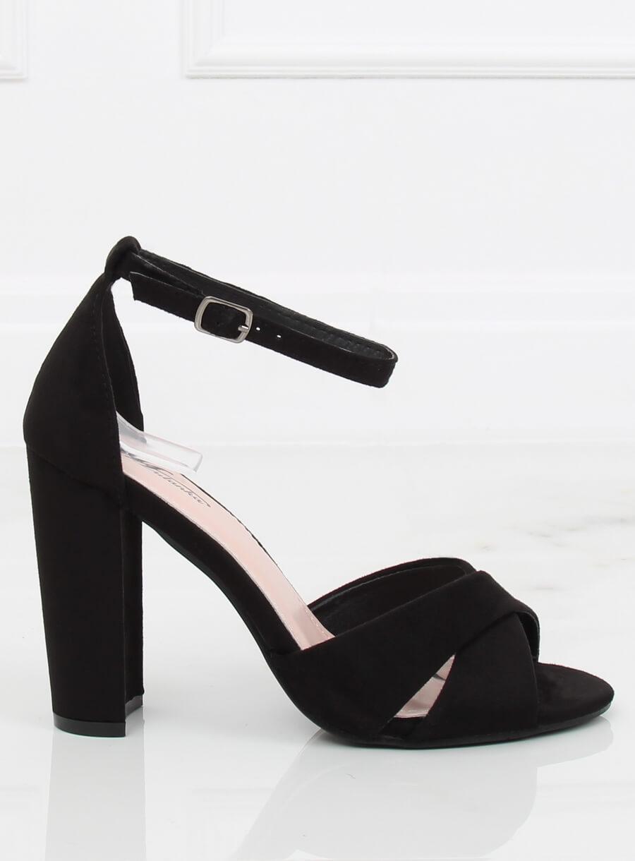 3e3875e6a0 Dámske sandále v čiernej farbe Avah - 3